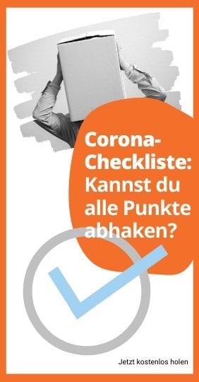 Corona-Checkliste: Die Zeit sinnvoll nutzen